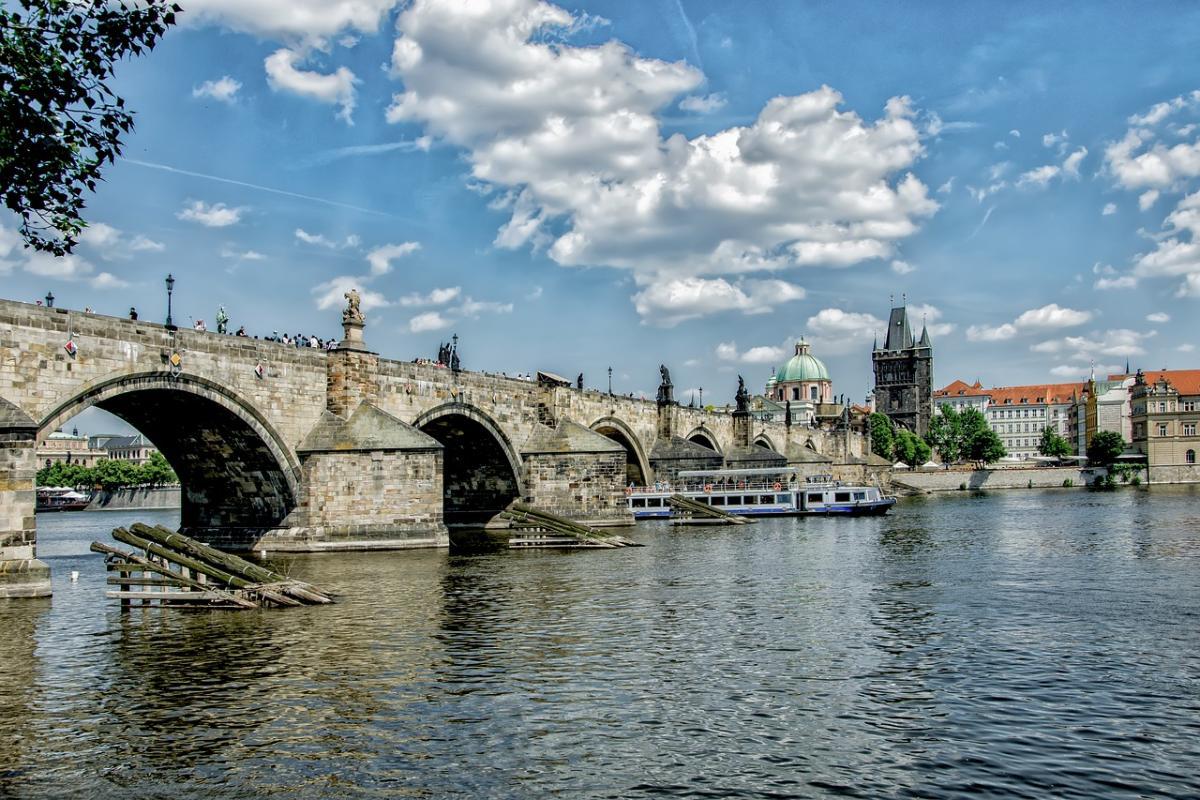 Чехия, обзорная экскурсия по Праге, Карлов мост