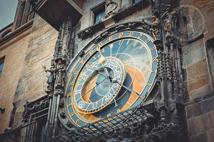 Чехия, обзорная экскурсия по Праге, Пражские куранта, часы Орлой