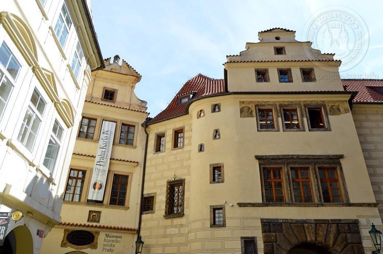 Чехия, обзорная экскурсия по Праге, вход в Унгельт