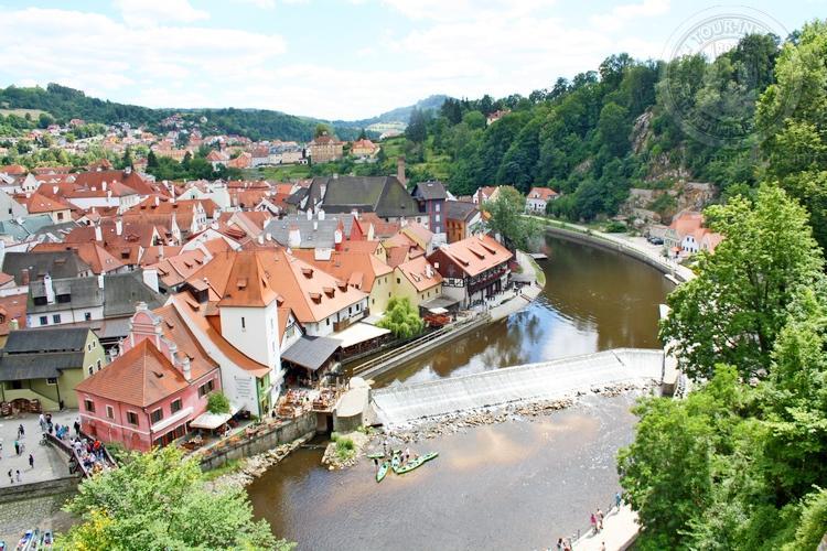 Чешский Крумлов  и замок Глубока экскурсия из Праги по Чехии